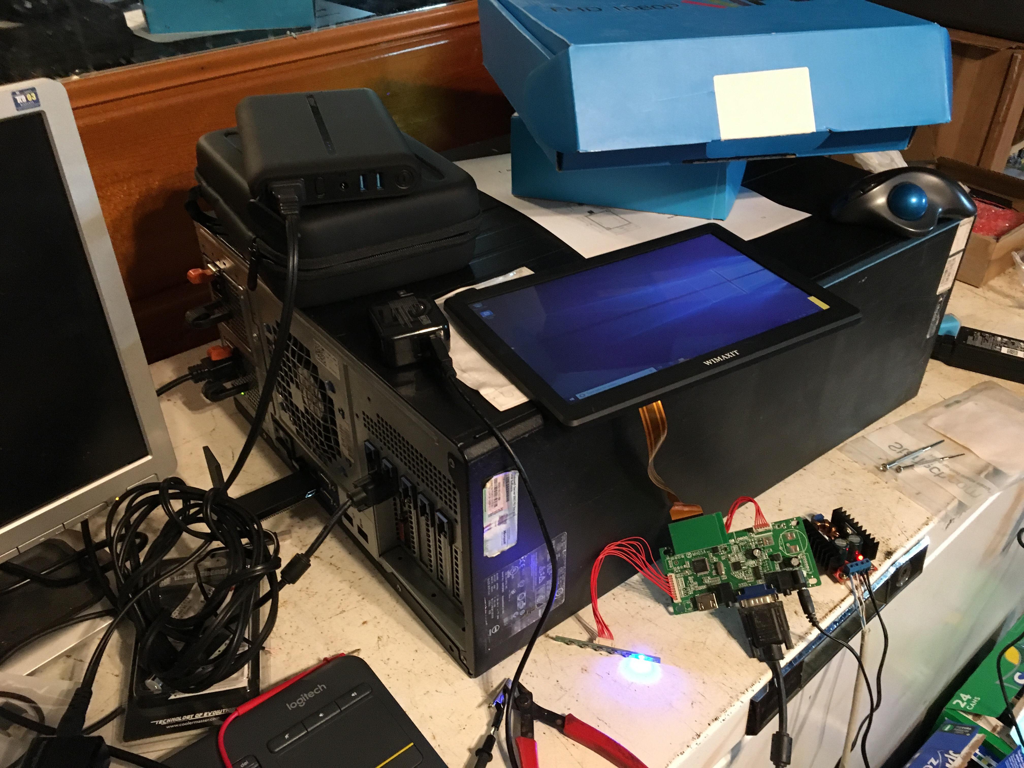 Tech mess